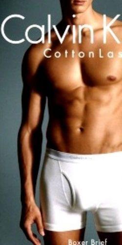 A103 Calvin Klein Men's Underwear U3362 Cotton Last Boxer Brief with Keyhole New