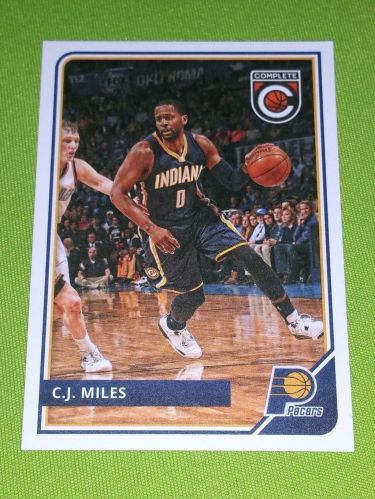 NBA 2015-16 PANINI COMPLETE C.J. MILES PACERS SUPERSTAR #249 MNT