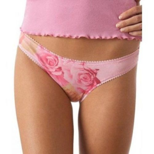 A0160 OnGossamer NEW 21303 Signature Hip-G Watercolor Low Rise G-String Thong PR