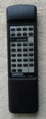 ONKYO RC 331C REMOTE CONTROL 6 disc CD player DXC390 DCX340 DCX370 DCX380 DX130