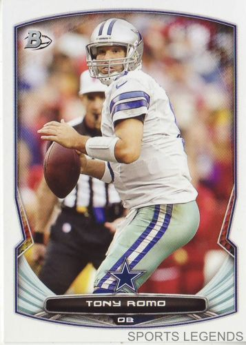 2014 Bowman #69 Tony Romo