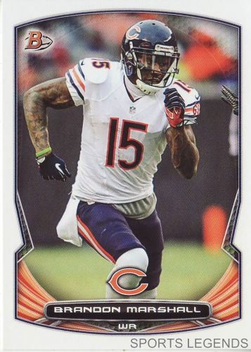 2014 Bowman #78 Brandon Marshall