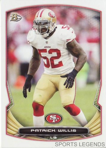 2014 Bowman #103 Patrick Willis