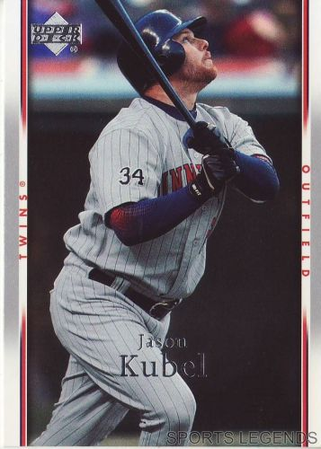 2007 Upper Deck #155 Jason Kubel