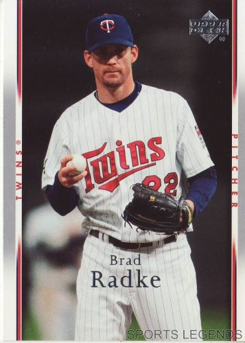 2007 Upper Deck #160 Brad Radke