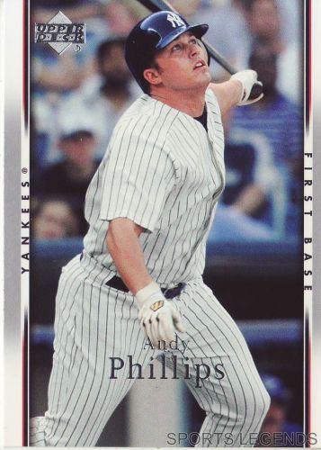 2007 Upper Deck #166 Andy Phillips