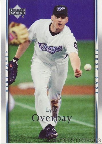 2007 Upper Deck #234 Lyle Overbay