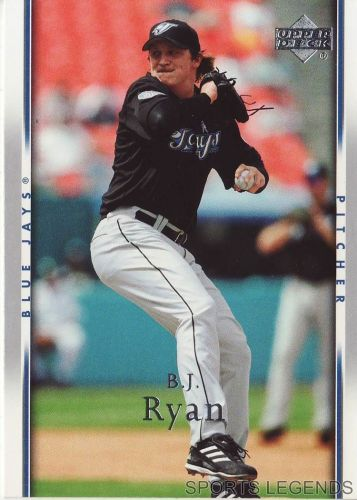 2007 Upper Deck #242 BJ Ryan