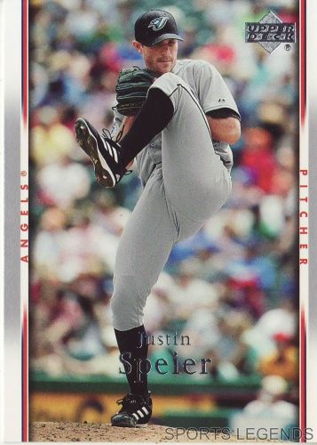 2007 Upper Deck #246 Justin Speier