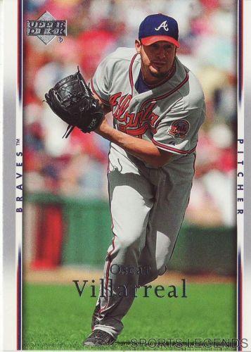 2007 Upper Deck #271 Oscar Villarreal