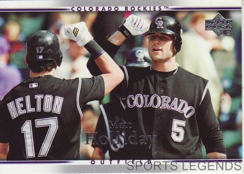 2007 Upper Deck #308 Matt Holliday