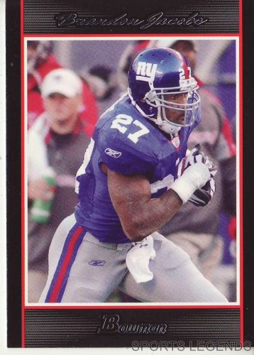 2007 Bowman #45 Brandon Jacobs