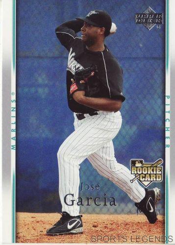 2007 Upper Deck #328 Jose Garcia