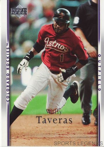 2007 Upper Deck #336 Willy Taveras