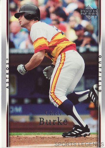 2007 Upper Deck #338 Chris Burke