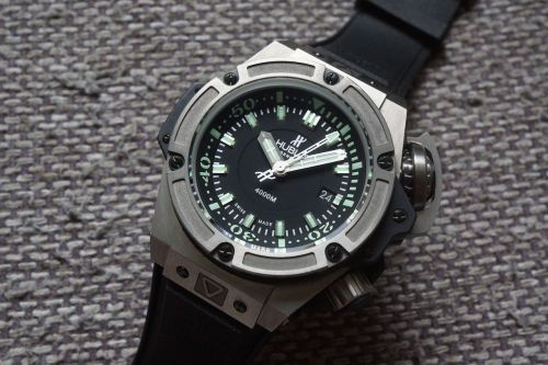 Hublot King Power Oceanographic 4000 diver Mens Watch 731.NX.1190.RX.