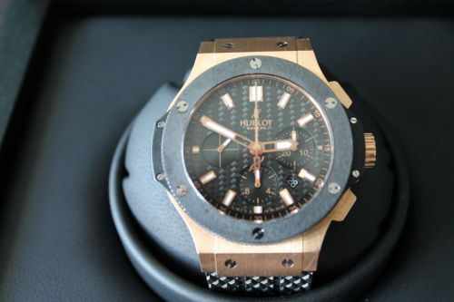 Hublot Big Bang Rose gold 18k Ceramic mens watch 301.PM.1780.RX