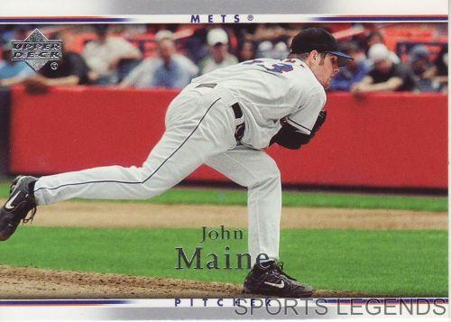 2007 Upper Deck #383 John Maine