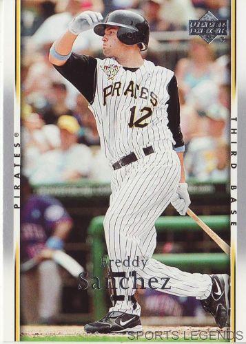 2007 Upper Deck #401 Freddy Sanchez