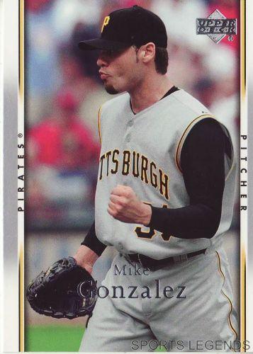 2007 Upper Deck #413 Mike Gonzalez