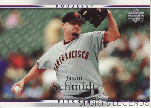 2007 Upper Deck #437 Jason Schmidt
