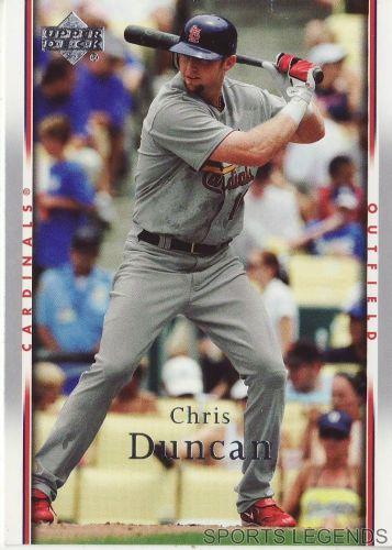 2007 Upper Deck #449 Chris Duncan