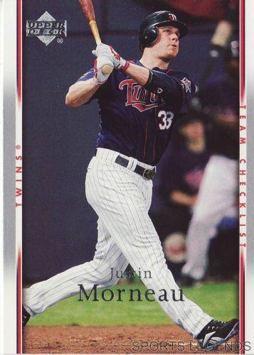 2007 Upper Deck #478 Justin Morneau