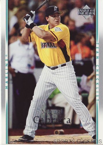 2007 Upper Deck #490 Miguel Cabrera