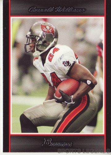 2007 Bowman #52 Carnell Williams