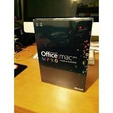 Microsoft Office For Mac 2011 home and business (1 user, 2 Macs)