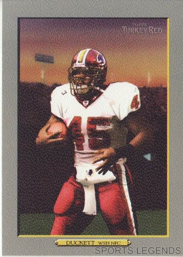 2006 Turkey Red #32 TJ Duckett