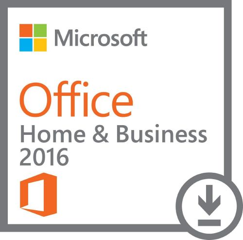 Microsoft Office Home and Business 2016 -1 Install (Download Delivery)