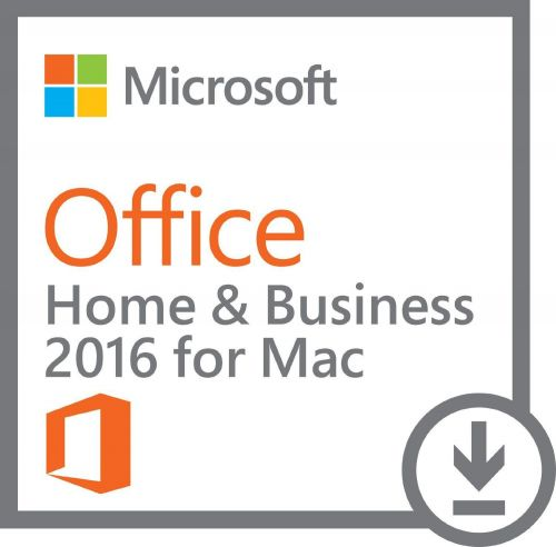 Microsoft Office Home and Business 2016 for Mac -1 Install (Download Delivery)