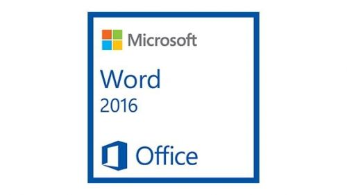 Microsoft Word 2016 -1 Install (Download Delivery)