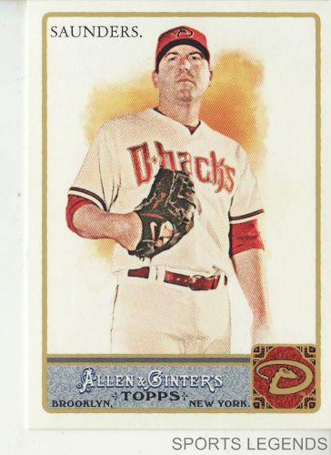 2011 Allen & Ginter #9 Joe Saunders