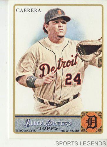 2011 Allen & Ginter #10 Miguel Cabrera
