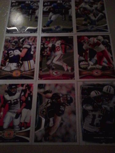 lot 9 football cards