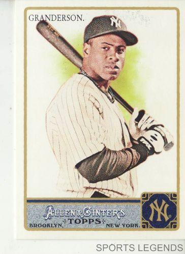 2011 Allen & Ginter #33 Curtis Granderson