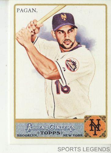 2011 Allen & Ginter #38 Angel Pagan