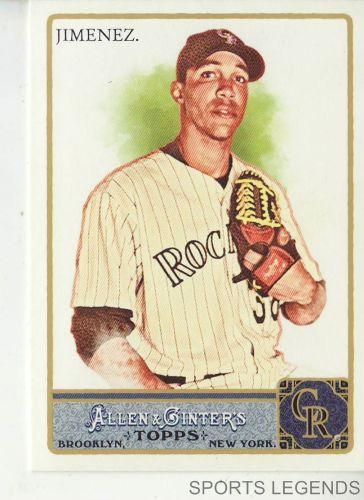 2011 Allen & Ginter #105 Ubaldo Jimenez