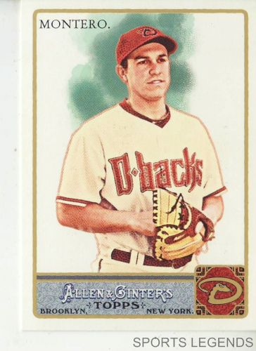 2011 Allen & Ginter #113 Miguel Montero