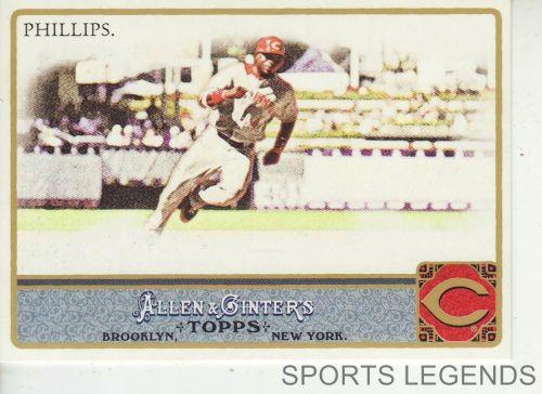 2011 Allen & Ginter #114 Brandon Phillips