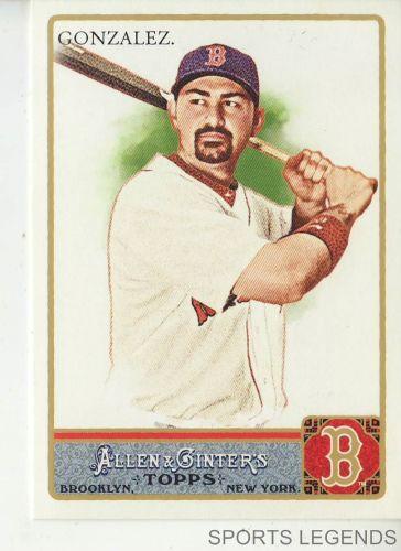 2011 Allen & Ginter #120 Adrian Gonzalez