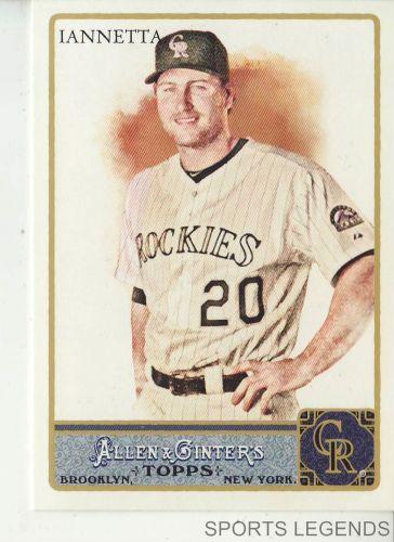 2011 Allen & Ginter #131 Chris Iannetta