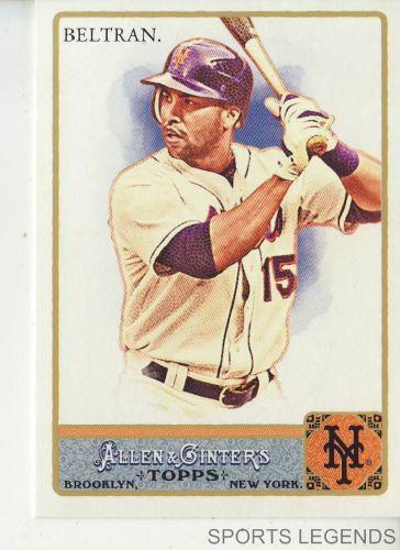 2011 Allen & Ginter #137 Carlos Beltran