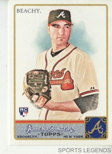 2011 Allen & Ginter #151 Brandon Beachy