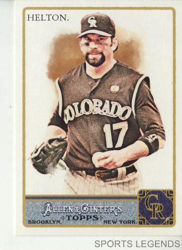 2011 Allen & Ginter #154 Todd Helton