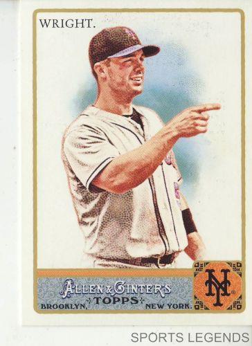 2011 Allen & Ginter #160 David Wright
