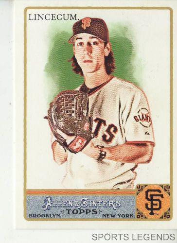2011 Allen & Ginter #170 Tim Lincecum