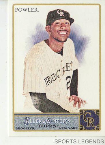 2011 Allen & Ginter #189 Dexter Fowler